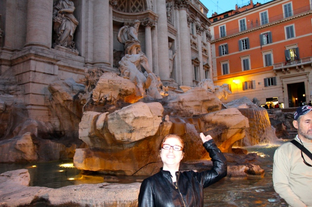 I'm sticking with the legend that says that tossing a coin in the fountain means you are guaranteed a return trip to Rome!