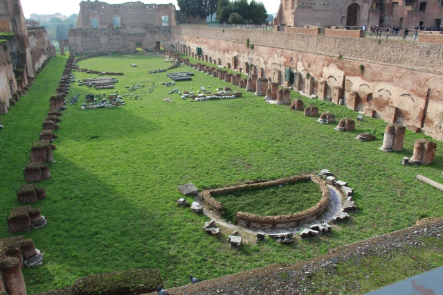 Circus Maximus: chariot arena and entertainment venue, Roman-style!