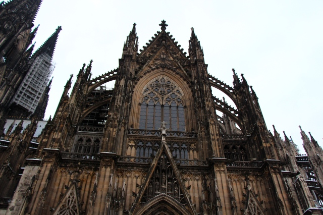 Another view of the Kölner Dom, whose official name is Hohe Domkirche St. Petrus.