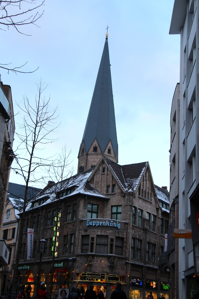 Bonn Minster, a papal Bascilica that is one of Germany's oldest churches.