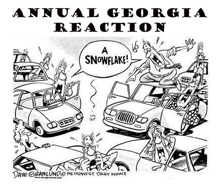 Although this was probably illustrated to mock what I've known of winter, it does ring more than a little true...