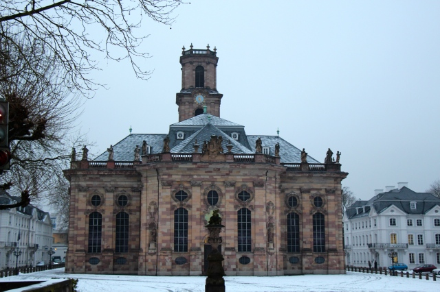 Ludwigskirche, because Ludwig got around. Very popular dude...