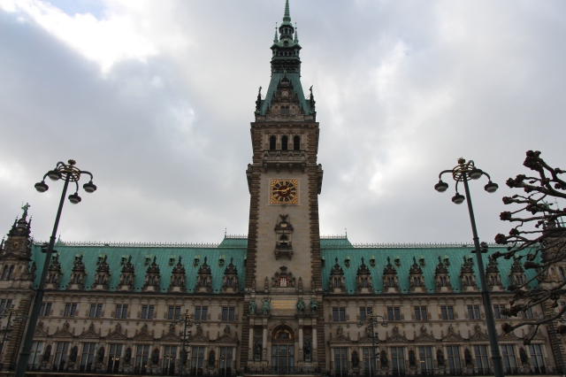 The Rathaus of Hamburg is truly magnificent. They also do a really nice tour where you can see the working offices of the government of the Free and Hanseatic City of Hamburg.